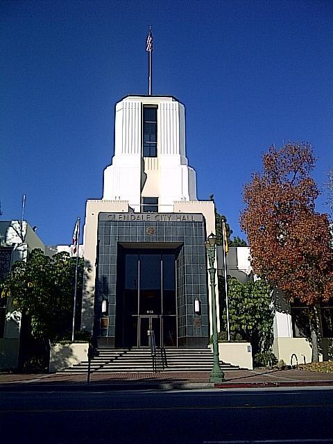 Glendale Town hall Glendale ca